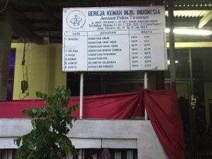 Doakan Proses Pembangunan Gereja Jemaat Antiokhia Pakis Tirtosari Surabaya