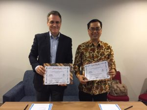 Perjanjian Kerjasama dengan Direktur CBN Asia Tenggara